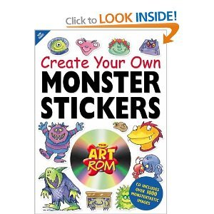 Read Online Monster Stickers (Art ROM Create Your Own...) pdf