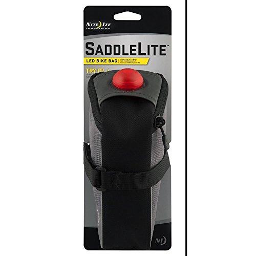 Nite Ize SaddleLite LED Bike Bag