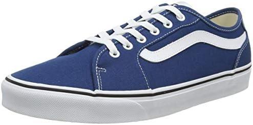 Details about Vans Mens Filmore Decon Trainers (Blue)