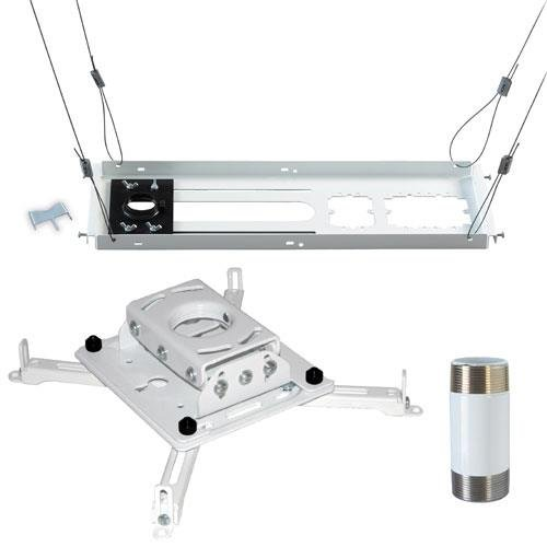 Chief Preconfigured Kit with RPAUW Projector Mount, CMS440 Ceiling Kit, CMS006W Extension Column