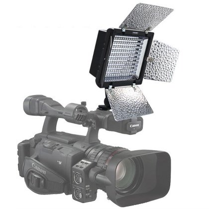 YNONGNUO YN-160II LED Camera Video Light with MIC Remote Control for Canon, Nikon, Samsung, Olympus, JVC, Pentax DSLR Camera DV and Camcorder