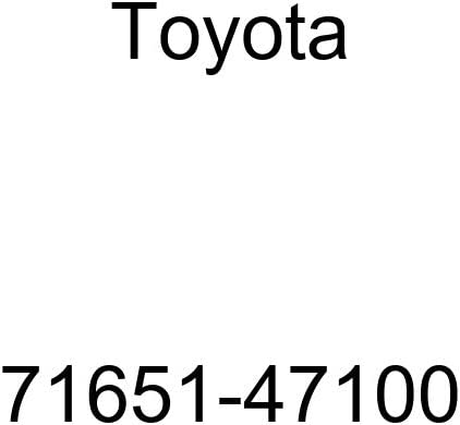 TOYOTA Genuine 71651-47100 Seat Back Pad