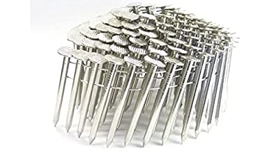 "1 3/4"" SMOOTH 304 STAINLESS COIL ROOFING NAILS 7.2M ProPak from Jev Cap"