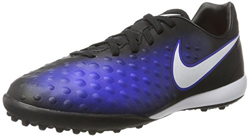 Design Nike Football Cleats - Nike Kids' Jr. Magista Opus II TF Turf Soccer Cleat (Sz. 1Y) Blue, Black