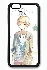 Beautiful Anime Girl 1 Slim Hard Cover For Iphone 6 Cover Case PC Black Cases