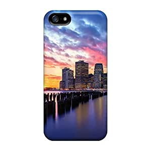 Cases For Iphone 5/5s With New York City Sunset
