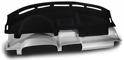 Dashcovers for Select Dodge Charger Models - Molded Carpet (Black) (Dodge Charger Black Carpet)