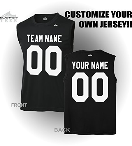 Customized Sleeveless Jersey Your Team Name Number Personalized Sports T Shirt
