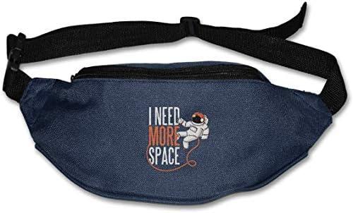 もっとスペースが必要ユニセックスアウトドアファニーパックバッグベルトバッグスポーツウエストパック