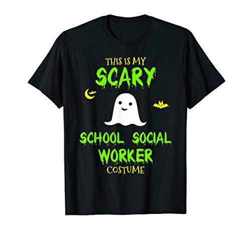 Scary School Social Worker Costume Halloween