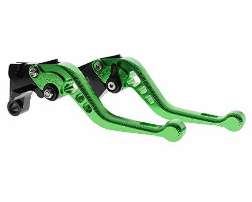 Rzmmotor Motorcycle 3D Texture Aluminum Short Brake Clutch Levers Fit for KAWASAKI NINJA 650R ER-6F ER-6N 09-16,VERSYS 650cc 09-14,NINJA 400R 11