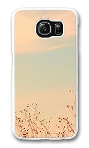 Antelope Island Utah Custom Samsung Galaxy S6/Samsung S6 Case Cover Polycarbonate White