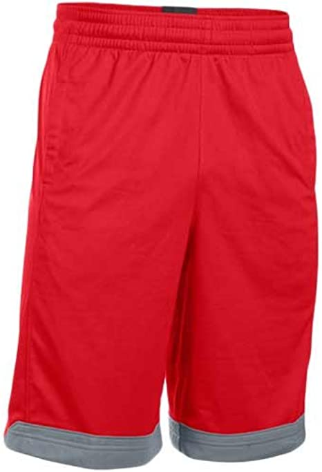 Amazon.com: Under Armour - Pantalones cortos de baloncesto ...