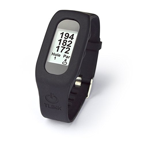 TLink Golf TLG42213 GPS Watch & Activity Tracker, Black