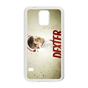 Dexter Blood Samsung Galaxy S5 Cell Phone Case White TPU Phone Case SV_112819