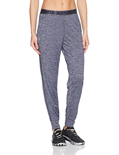 Under Armour Womens Twist Play Up Pants  Midnight Navy Granite  X Large