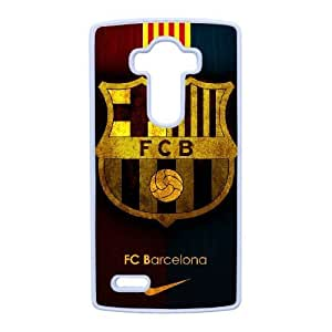 LG G4 case , Barcelona Football LG G4 Cell phone case White-YYTFG-20931