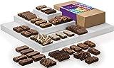 Fairytale Brownies Birthday Sprite 48 Gourmet Chocolate Food Gift Basket - 3 Inch x 1.5 Inch Snack-Size Brownies - 48 Pieces - Item LB248