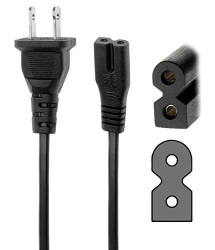32LG40 32LC7D AC Power Cord Cable For LG 32LD450 32LF11 32LG30 32LD350-12ft