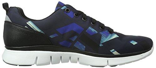 BOSS Green Gym_Runn_Nypr 10191378 01, Zapatillas para Hombre Azul (Open Blue 460)