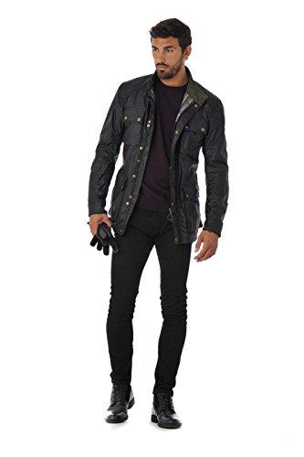90000 black Nero Uomo Roadmaster Cappotto Jacket Man Belstaff U87wF