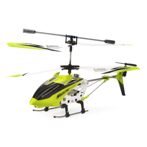 Syma S107G 3.5 Channel RC Helicopter with Gyro, Green