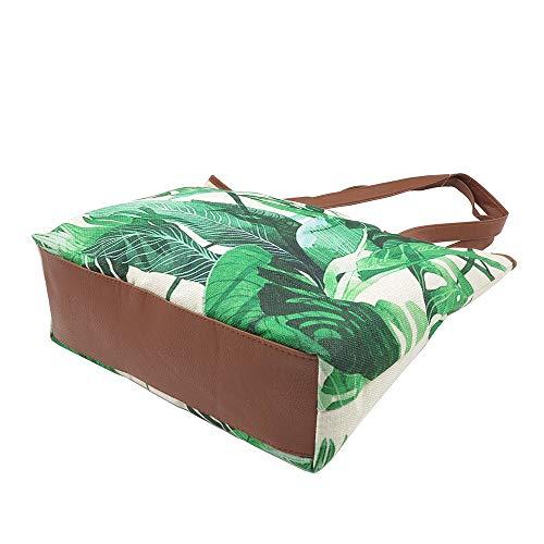 de Verde Talla Di Lona lusso Bolso para Collection al única verde mujer hombro zAXqpAw