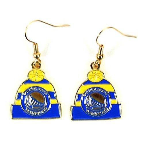- NBA Golden State Warriors Knit Hat Dangler Earrings