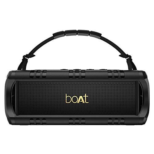 boAt Stone 1400 Mini 18W Bluetooth Speaker(Active Black)