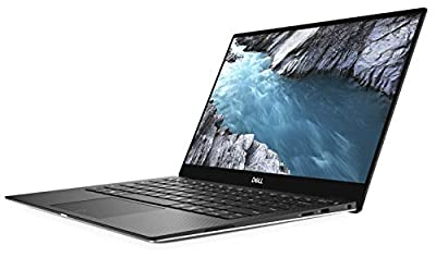 "2019 XPS 13 9380 Laptop 13.3"" 4K UHD InfinityEdge Touch Display 8th Gen Intel Whiskey Lake i7-8565U Fingerprint Reader Top Bezel Webcam Plus Compatible Stylus Pen Light by Dell Computers"