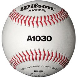Wilson Practice Baseball - Flat Seam (DZN)