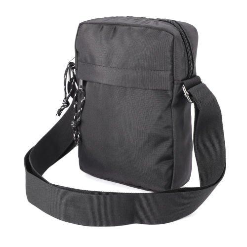 The Pecan Man Black Messenger Bag Satchel School Bag Travel Travel Organiser Utility Briefcase Bag Shoulder Bag