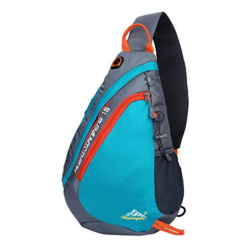 Clearance!DDKK backpacks Sling Waterproof Foldable Outdoor Sports Backpack Daypack Chest Bag Hiking Camping Climbing Cycling Travel Shoulder Bag