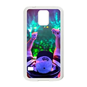 Samsung Galaxy S5 Cell Phone Case White Deorro Unique Phone Case Cover For Guys CZOIEQWMXN32338