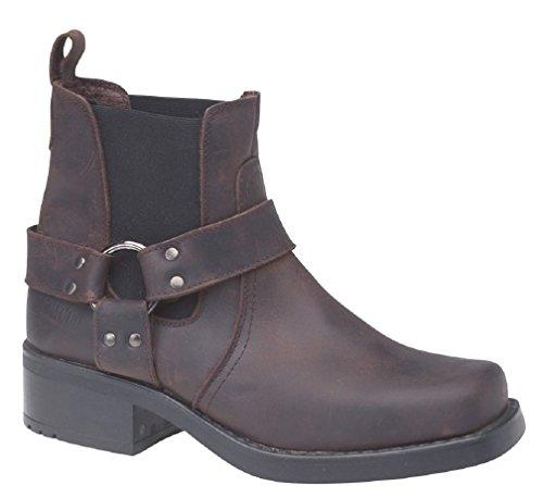 Gringos M486A Boots Brown Dark Chelsea Men's 88xqBwHr