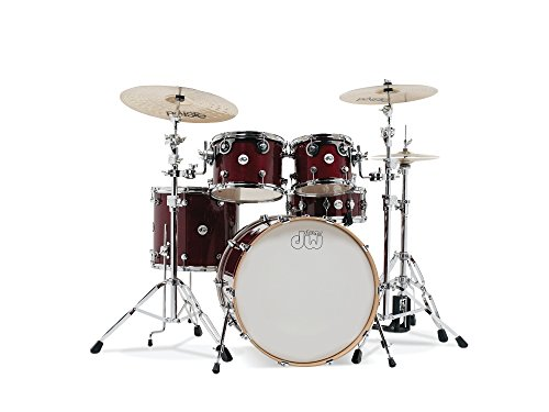 DW Design Series 5-piece Shell Pack - Cherry (Best Dw Stains)