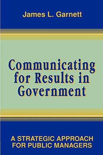 Communicating Results Govt P