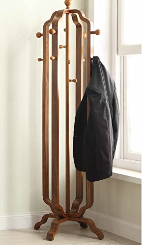 Vintage Coat Rack Free Standing Furniture Large Hallway Hooks Wooden Extraordinary Vintage Standing Coat Rack