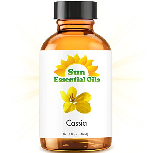 Cassia (2 fl oz) Best Essential Oil - 2 Ounces (59ml)