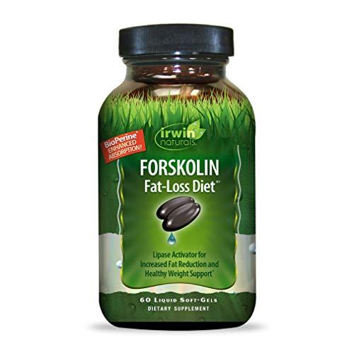 Forskolin Diet Activator by Irwin Naturals for Healthy Weight Support, 60 Liquid Soft-Gels