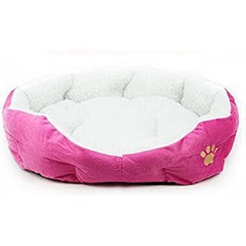 freedi small puppy bed washable dog cat sleeper cotton pet bed sofa soft with dog paw