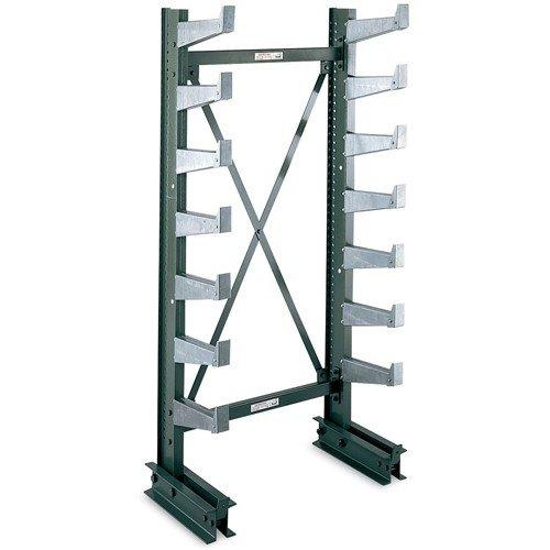 (Jarke Quiktree Light-Industrial Grade Cantilever Rack - 72X21x84