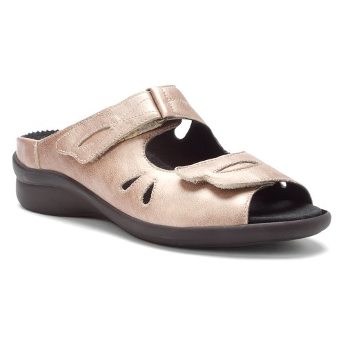Durea Womens Kristy Slides Sandals Gold