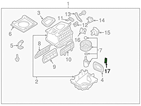 Nissan Rogue Blower Motor Wiring Diagram