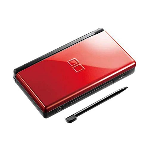 Nintendo DS Lite Console Handheld Video Game System with 90 Games Free - Red-Black / Refurbished