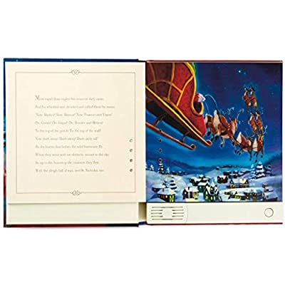 HMK The Night Before Christmas Pop-Up Recordable Storybook: 0763795593460: Toys & Games