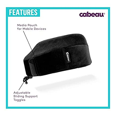 The Best Neck Pillow with 360 Head /& Neck Support Cabeau Evolution Memory Foam Travel Pillow
