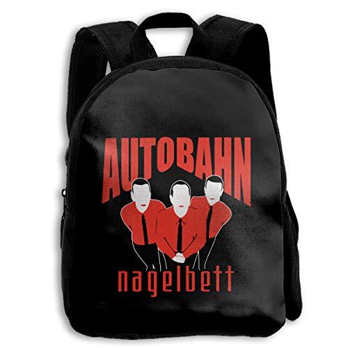 Kids Backpack Autobahn Nagelbett Travel Hiking Shoulder Bags Backpacks For Children