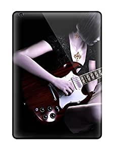 Hot LxduHbC5608MIPQb Guitar Tpu Case Cover Compatible With Ipad Air by supermalls