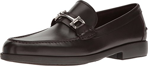 Salvatore Ferragamo Men's Frisco Loafer, Hickory, 40 (US Men's 6) D-Medium
